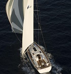 Bavaria Cruiser 41 sailing